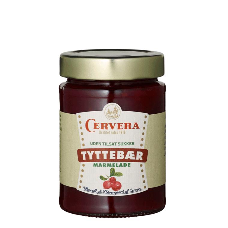 Cervera Tyttebær marmelade uden tilsat sukker