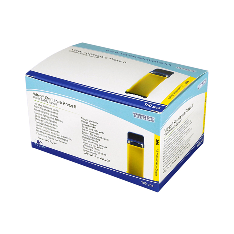 Vitrex® Sterilance Press II, 26G x 1,8 mm, 100 stk.