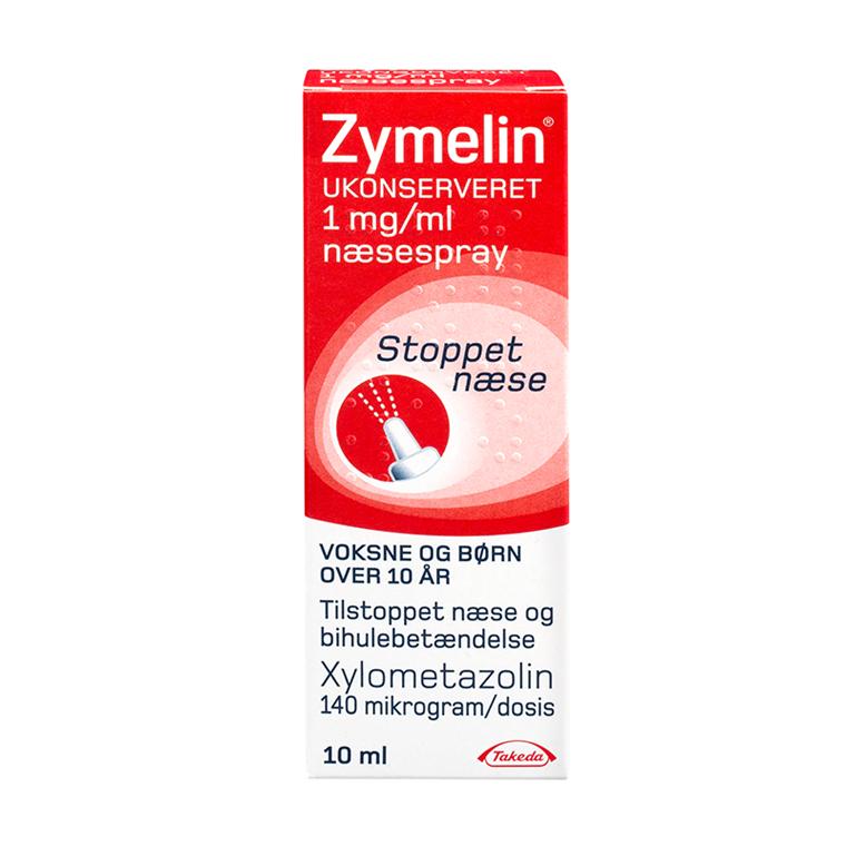 Zymelin næsespray til børn og voksne (over 10 år) 1 mg/ml
