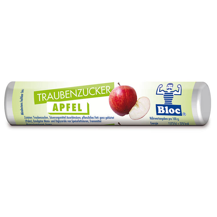 Bloc Druesukker - Æble