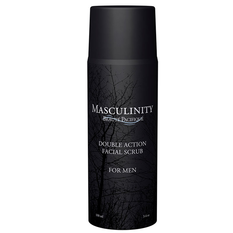 Beauté Pacifique Masculinity Facial Scrub For Men, 100 ml