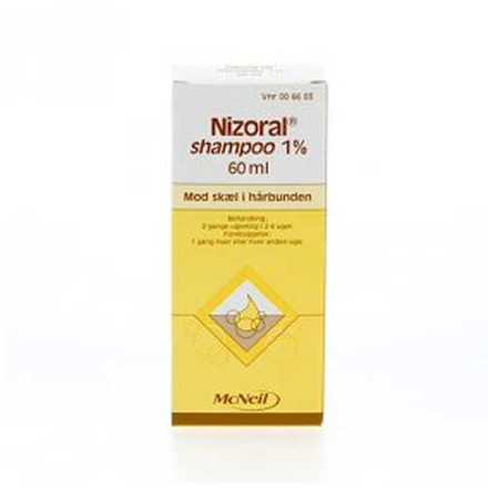 Nizoral shampoo m/balsam 1%