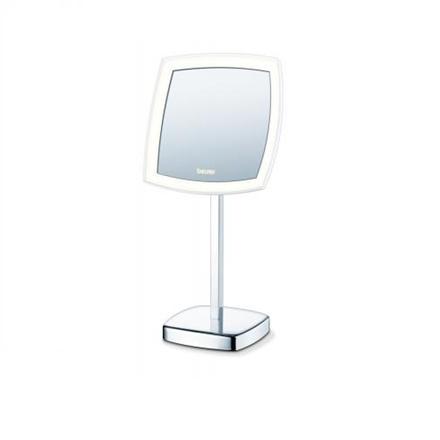 Beurer kosmetikspejl med lys og på høj fod BS 99