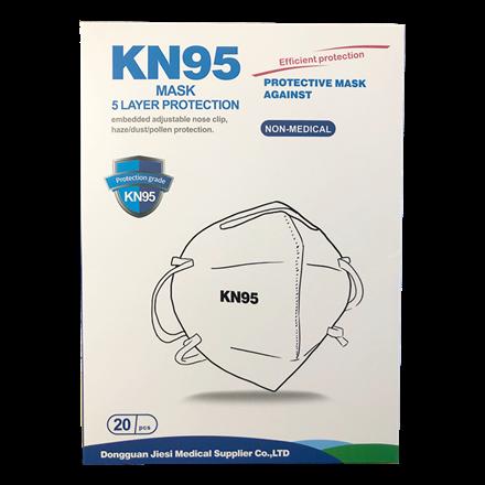 Mundbind KN95 / FFP2 maske, 20 stk.
