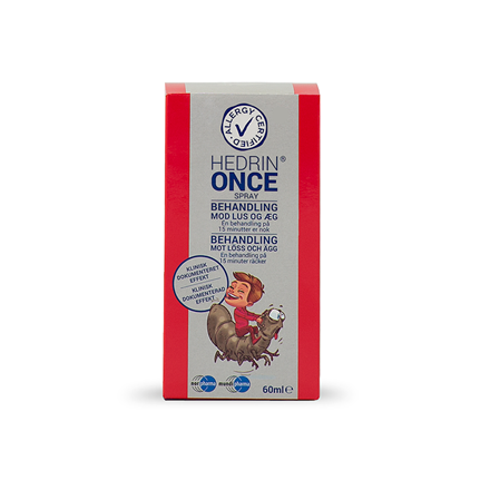 Hedrin Once spray, 60 ml