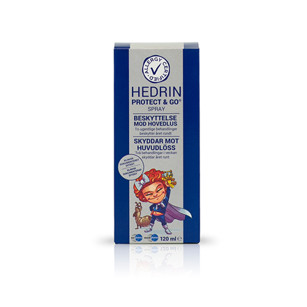 Hedrin Protect & Go spray, 120 ml