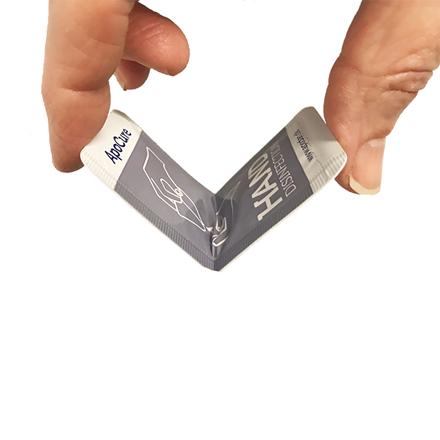ApoCure Hånddesinfektion, 150 stk. x 3 ml.