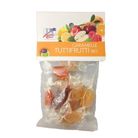 Økologiske Tutti Frutti frugtbolcher uden tilsat sukker, 60 g
