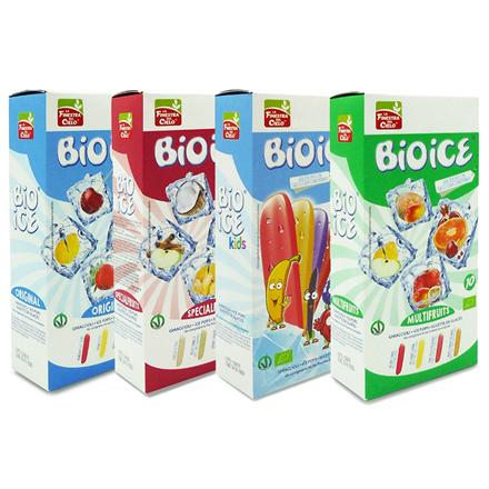 Ice Pops Kids uden tilsat sukker 10 stk. Økologiske