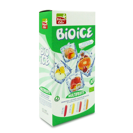 Ice Pops Multifrugt uden tilsat sukker, 10 stk. Økologisk