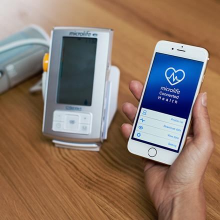 Microlife blodtryksmåler BP A6 BT  - med Bluetooth teknologi