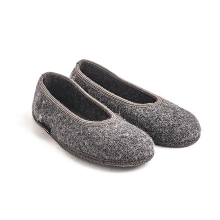 Haflinger Marina slippers, Grå