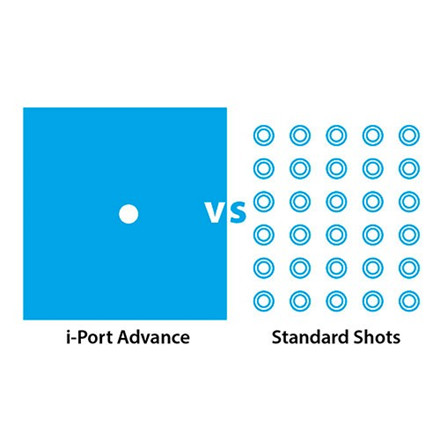 i-Port Advance injektionsport 6 MM, 10 stk.