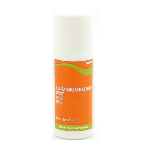 antiperspirant med aluminiumklorid