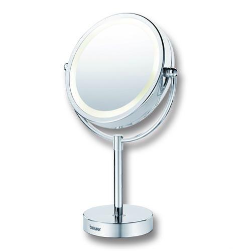 Utroligt Kosmetikspejl på fod m. lys og 2 sider - Køb online her HF29