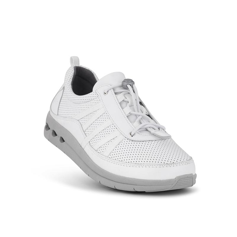 6493743dde6 Køb New Feet sporty damesko med snøre | Str. 38-42 i flot hvid