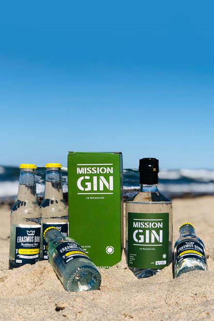 Mission Gin + 4 fl. Erasmus Bond Tonic