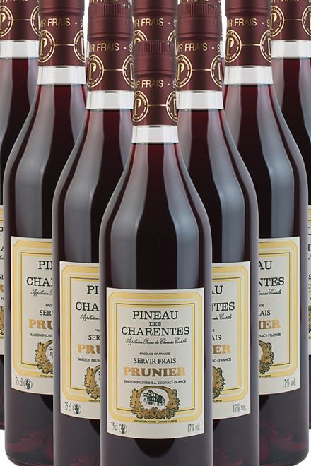 Pineau des Charentes rød