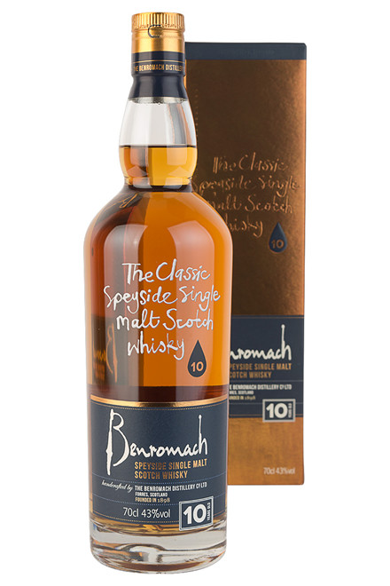 Benromach Speyside Single Malt 10 år