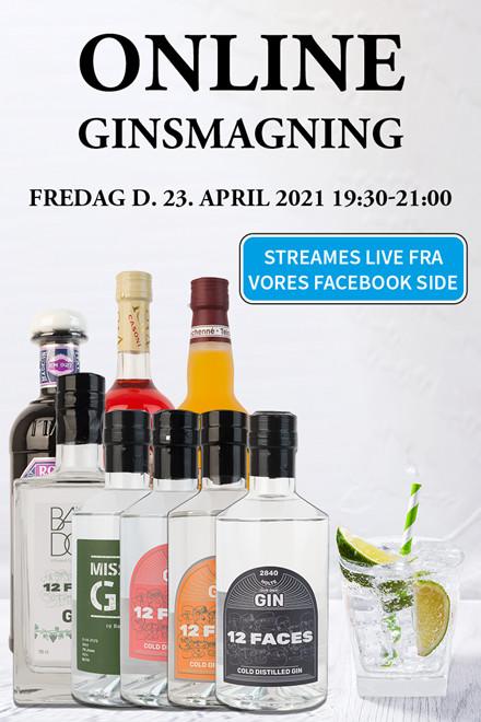 Online Ginsmagning