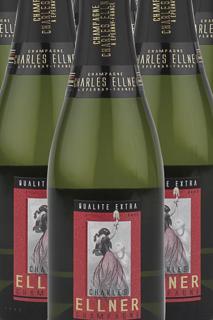 Champagne Ellner Brut Extra ½ flaske