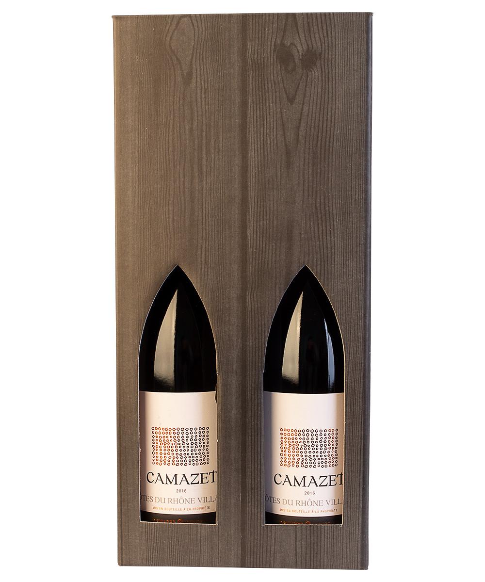 2 flasker Camazet i gaveæske