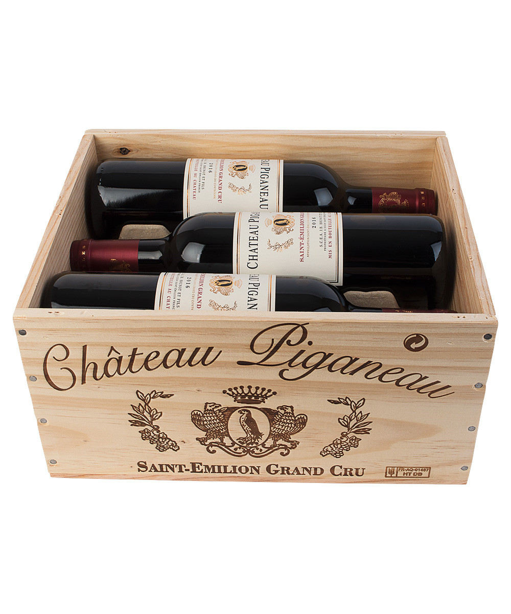 Château Piganeau - 6 fl. i trækasse