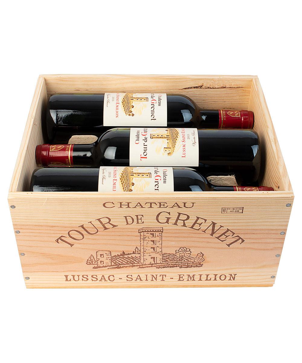 Château Tour de Grenet 2015 - 6 fl. i original trækasse