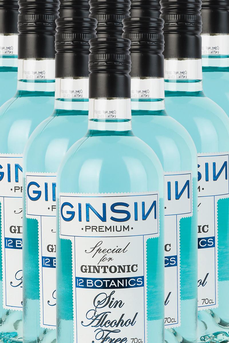 Ginsin Gin 12 Botanics (alkoholfri)
