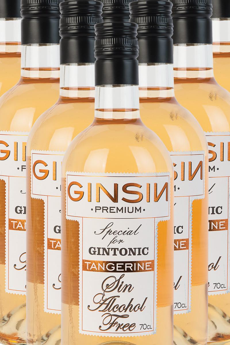 Ginsin  Gin Tangerine (alkoholfri)