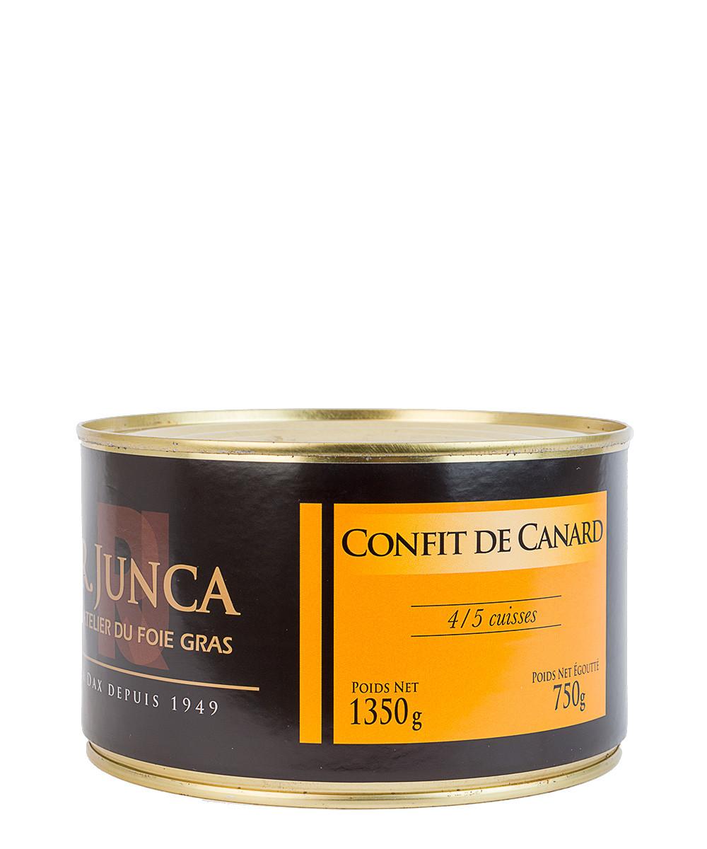 Confit de Canard (confiterede andelår)