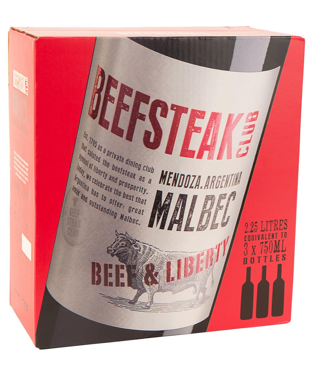 Beefsteak Club Malbec BIB (225 cl.)