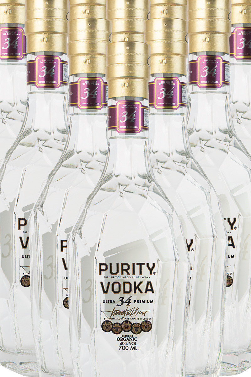 """Purity Vodka """"34 destilled"""""""