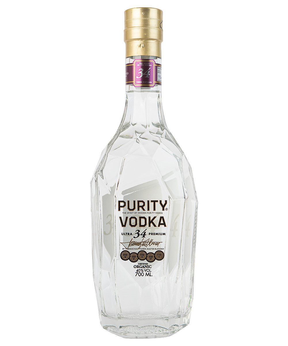 "Purity Vodka ""34 destilled"""