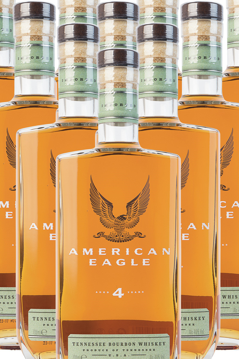 American Eagle Bourbon 4 år