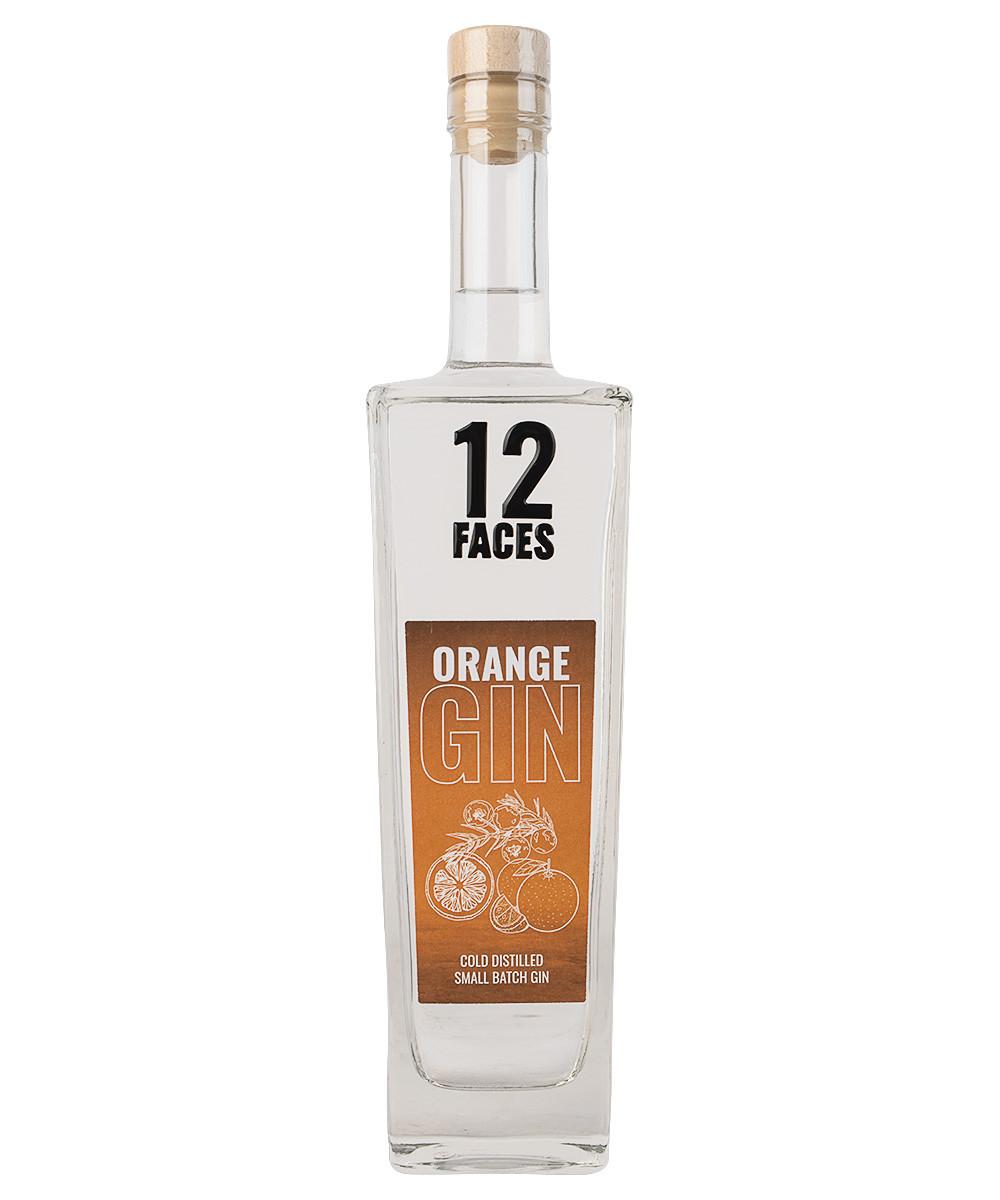 12 Faces Orange Gin