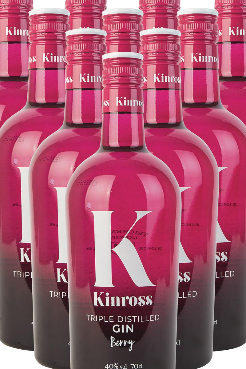 Kinross Wild Berry Gin