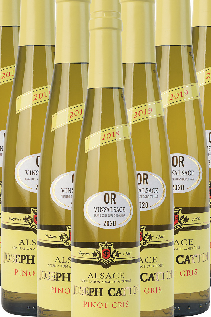 Alsace Pinot Gris ½ flaske