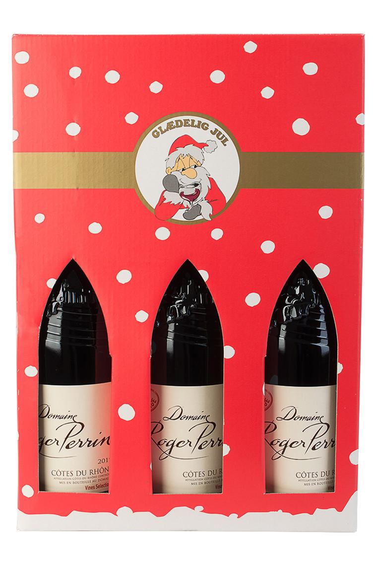 3 fl. Roger Perrin Cuvée Prestige - Årets Julevin fra Frankrig