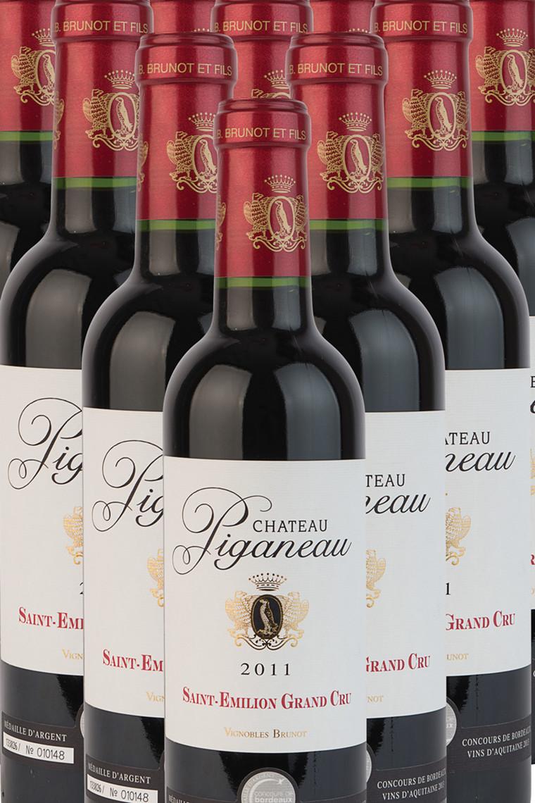 Château Piganeau ½ flaske