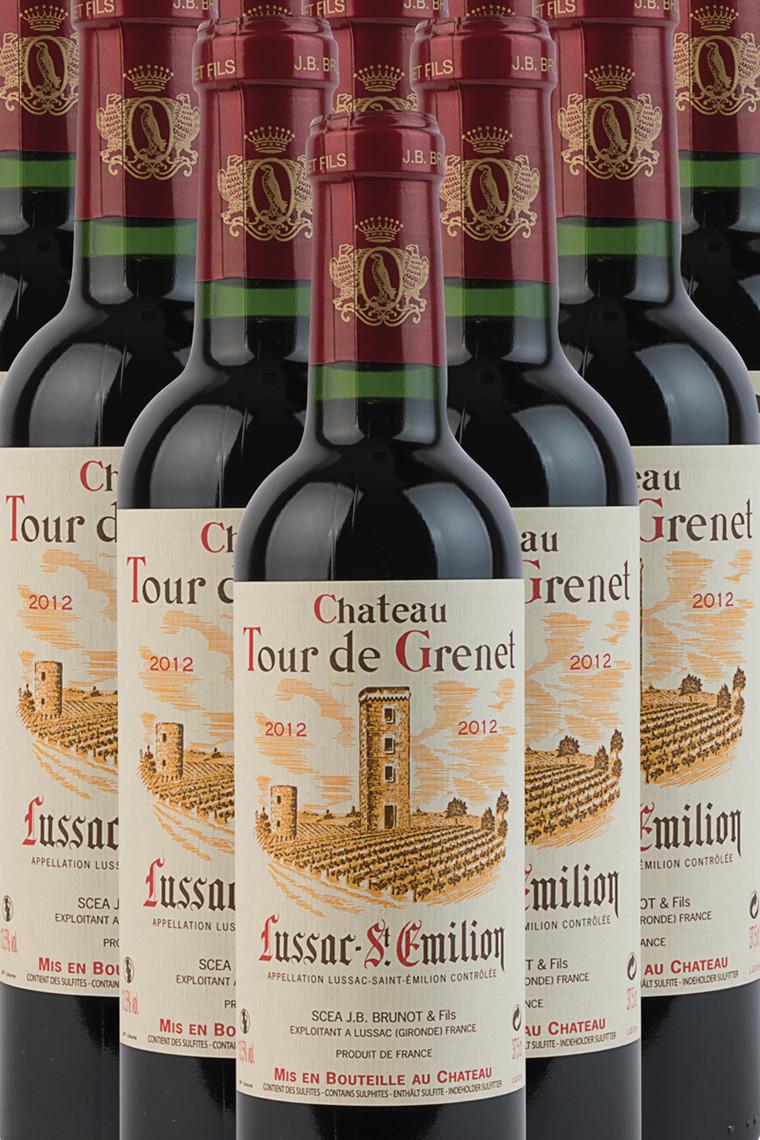 Château Tour de Grenet ½ flaske