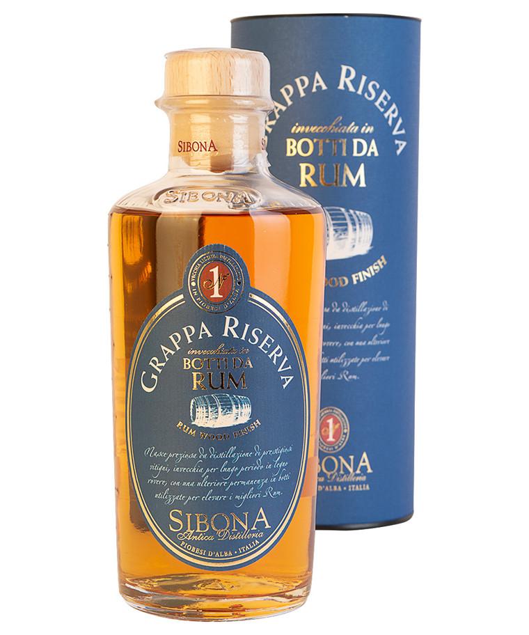 Grappa Riserva Rum Wood