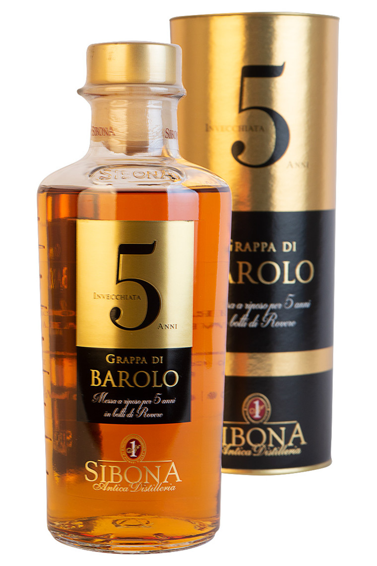 Grappa Barolo 5 years