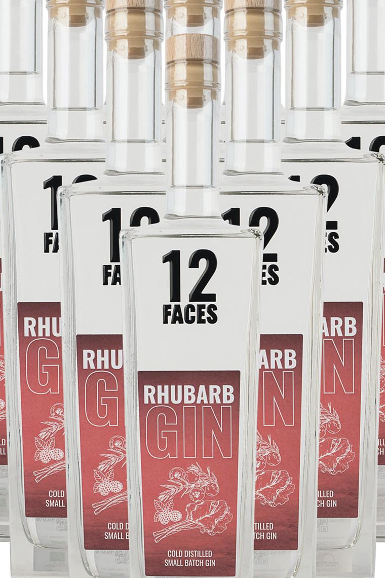 12 Faces Rhubarb Gin