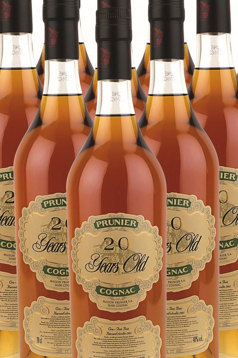 Cognac Prunier 20 år m/gaveæske