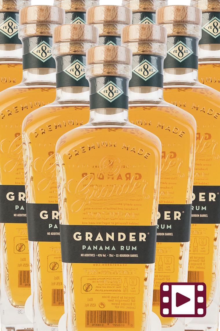 Grander Panama Rum 8 år