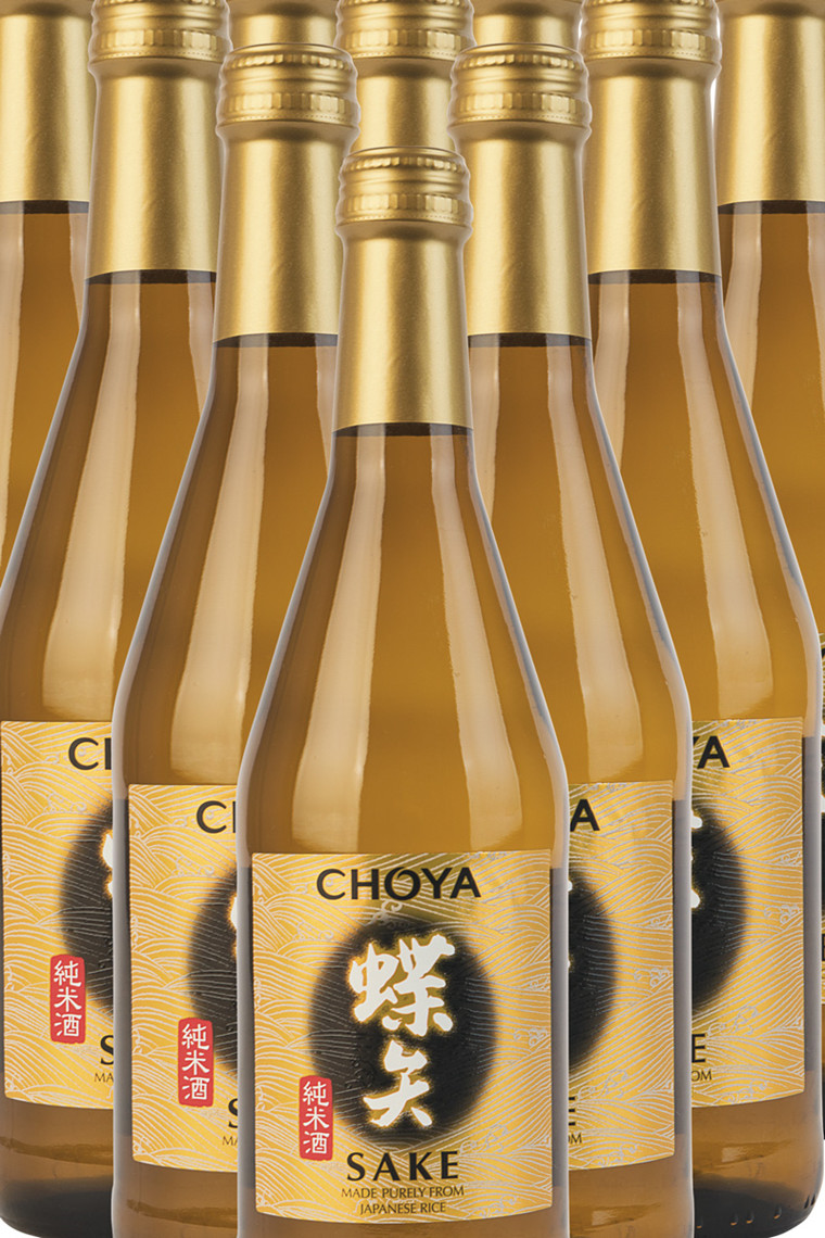 Choya Sake Gold Label