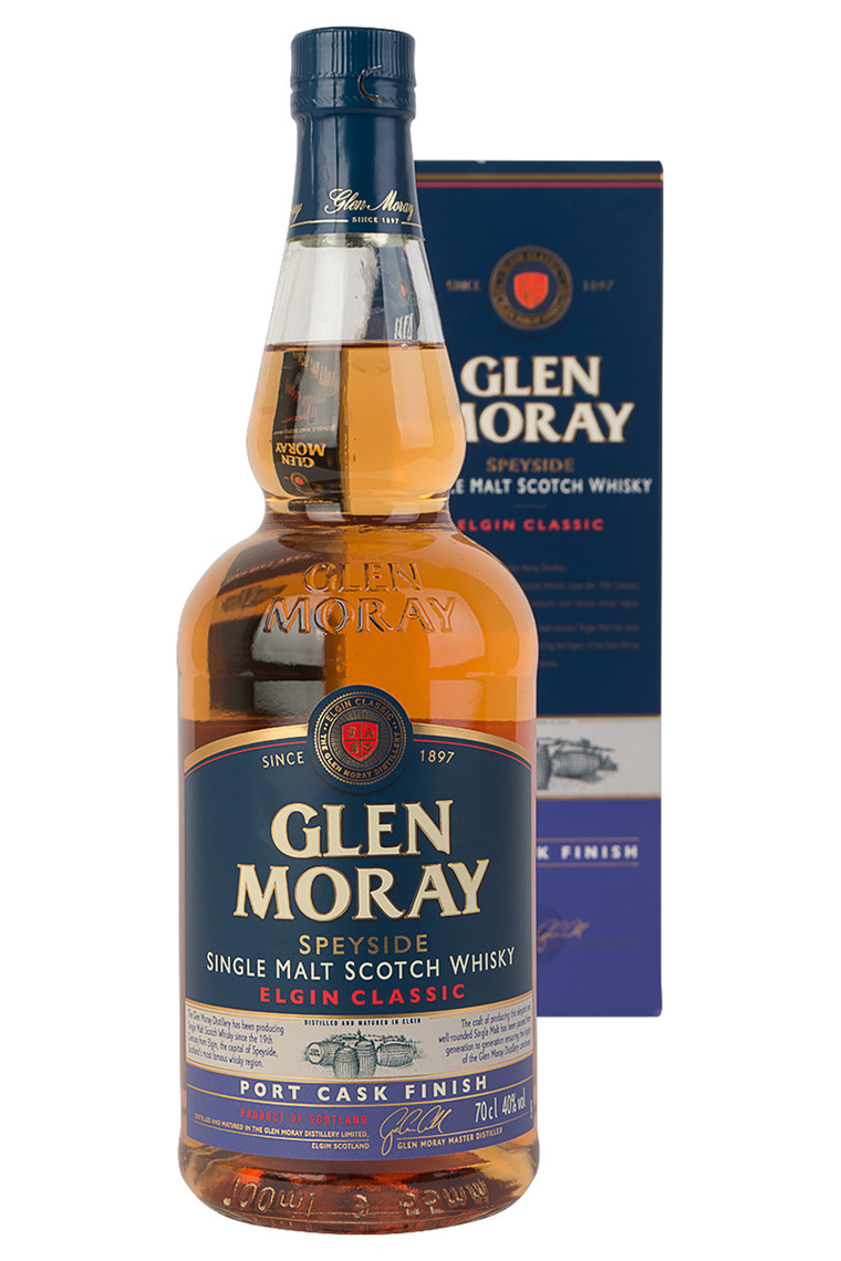 "Glen Moray Single Malt Whisky ""Port Cask Finish"""