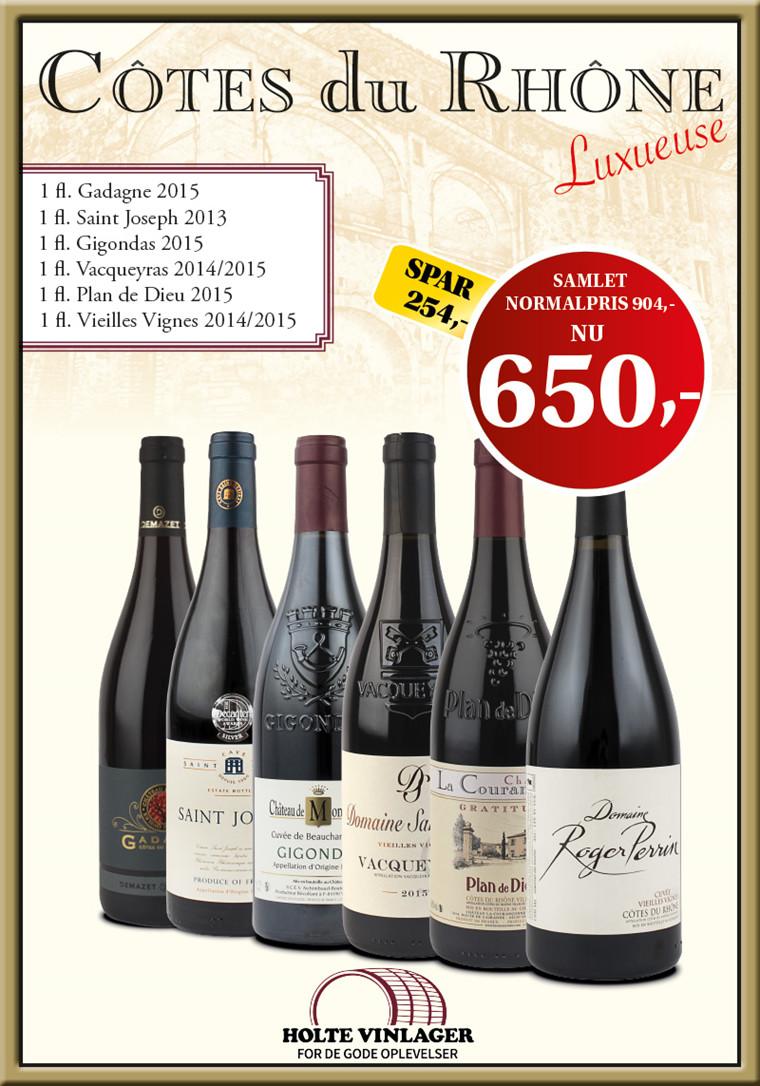 Côtes du Rhône Luxueuse