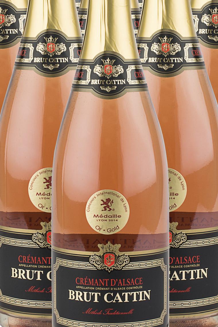 Crémant d'Alsace Brut Rosé M.O.
